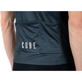 Cube Blackline CMPT Kurzarm Trikot Herren grey´n´blue